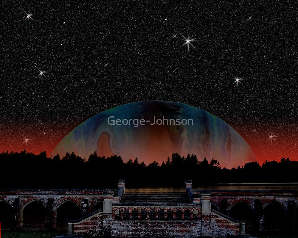 PLanet rising  by George-Johnson