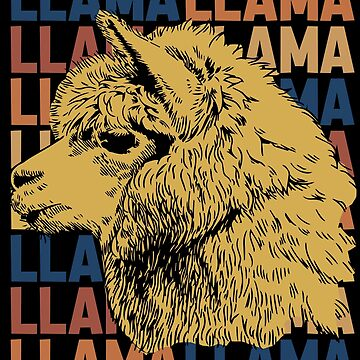 Llama animal by GeschenkIdee