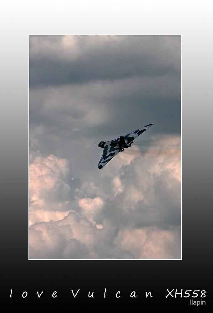 I love vulcan XH558 by Ilapin