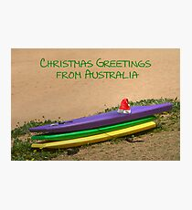 Christmas in Australia Photographic Print