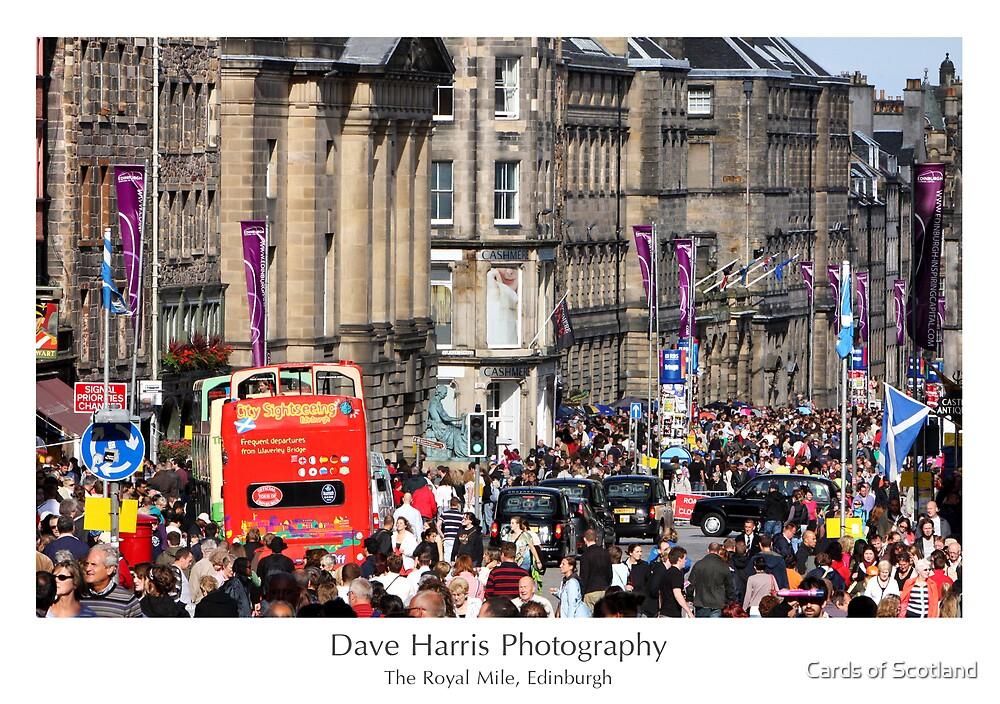 The Royal Mile, Edinburgh by Cards of Scotland