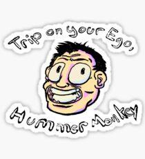 Hummer Monkey Sticker