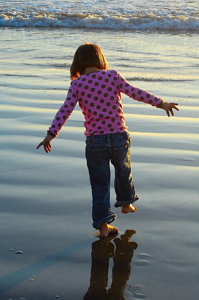 Gettin her feet wet by Cynde143