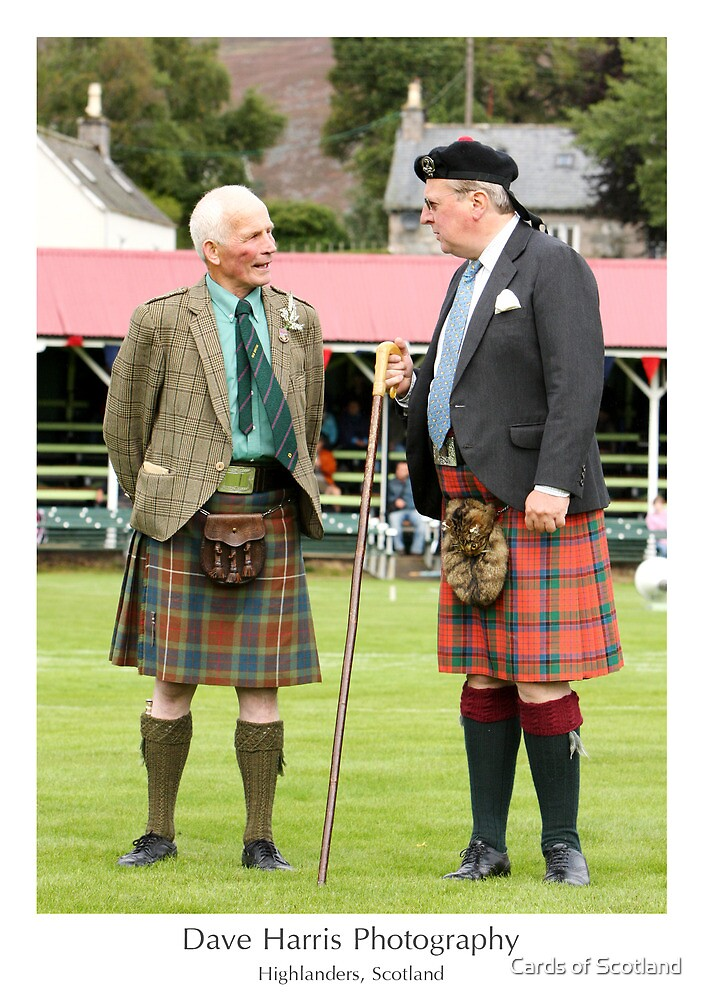 Highlanders, Scotland by Cards of Scotland