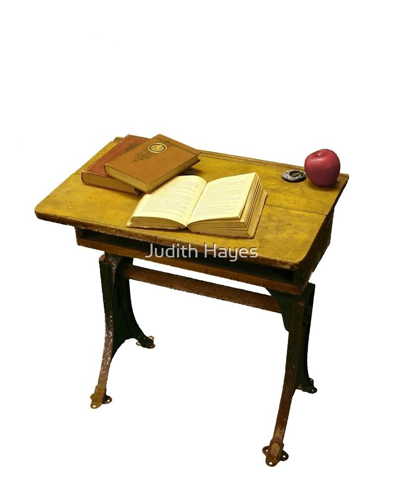 Vintage School Desk by Judith Hayes