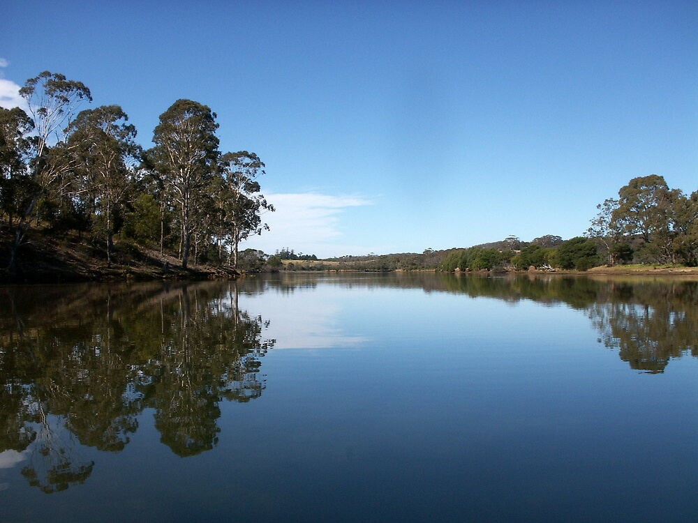 River Reflections by Vonnstar