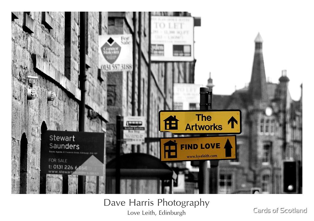 Love Leith, Edinburgh by Cards of Scotland