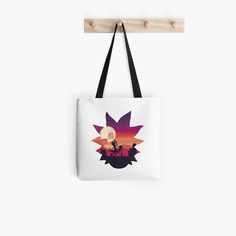Rick and Morty Run! Tote Bag