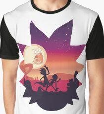 Rick and Morty Run! Graphic T-Shirt