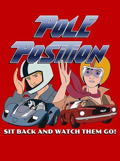 Retro 80s Cartoons Pole Position TV Series