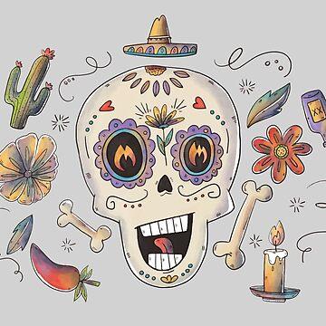 Dia De Muertos by Bethany-Bailey