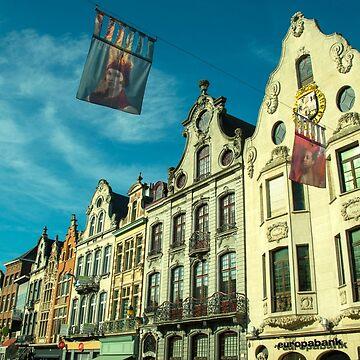 Architecture of Mechelen by hawkie