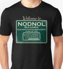 Nodnol Bulgaria Home of the Sensational Reverse Brothers Unisex T-Shirt
