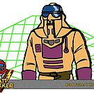 M.A.S.K. MASK Brad Turner by mtrakker