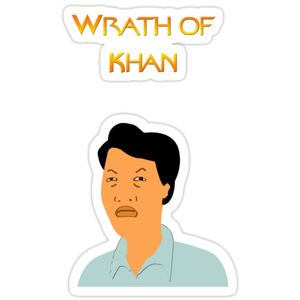 """""""king Of The Hill  Wrath Of Khan"""" Stickers By Bassdmk. Native Art Decals. Car Rental Banners. Environment Signs. Disabled Car Park Signs Of Stroke. Japan Stickers. Dance Floor Stickers. Safari Lettering. Leaf Stickers"""