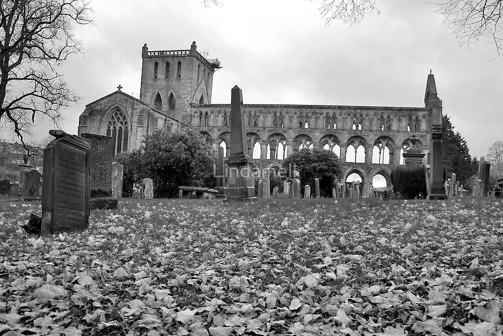 Jedburgh Abbey by Lindamell