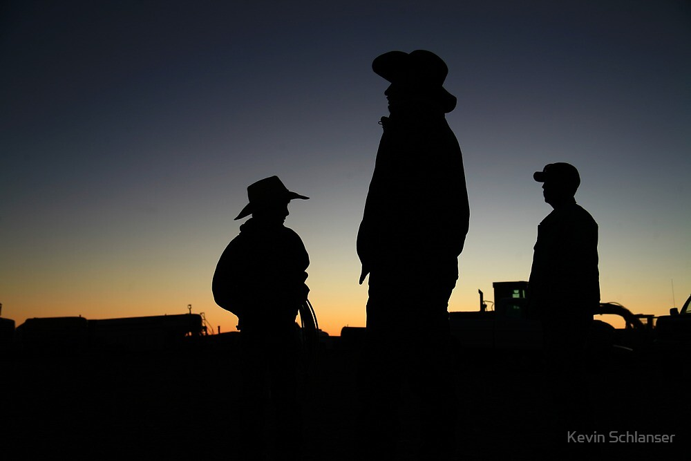 Men of the Ranch by Kevin Schlanser