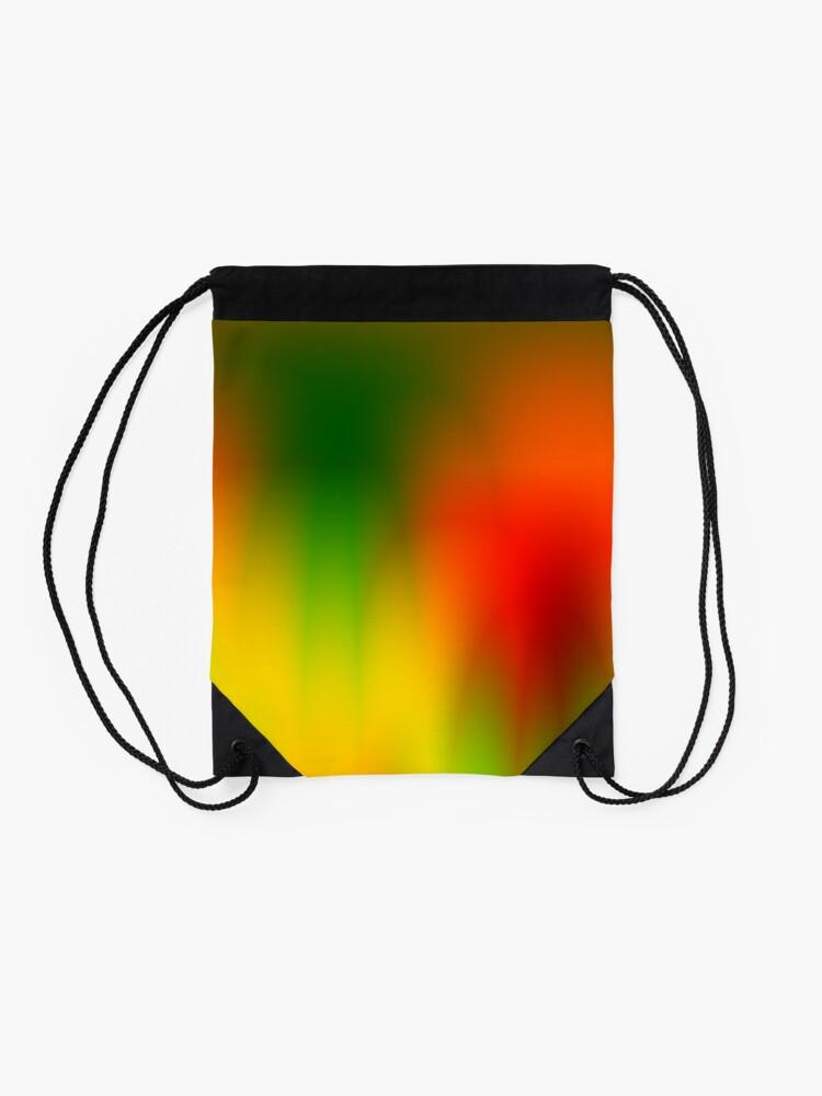 Alternate view of Rasta Splash Drawstring Bag