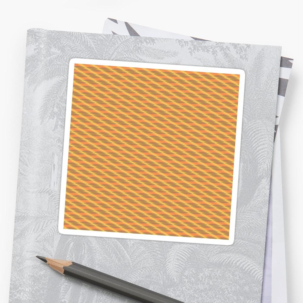 The Line 2 by Saskia Freeke  v001 Sticker
