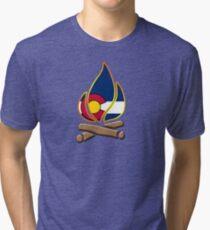 Colorado Campfire Tri-blend T-Shirt