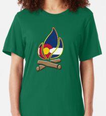Colorado Campfire Slim Fit T-Shirt
