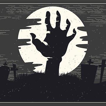 Halloween Scene Zombie by Tr0y