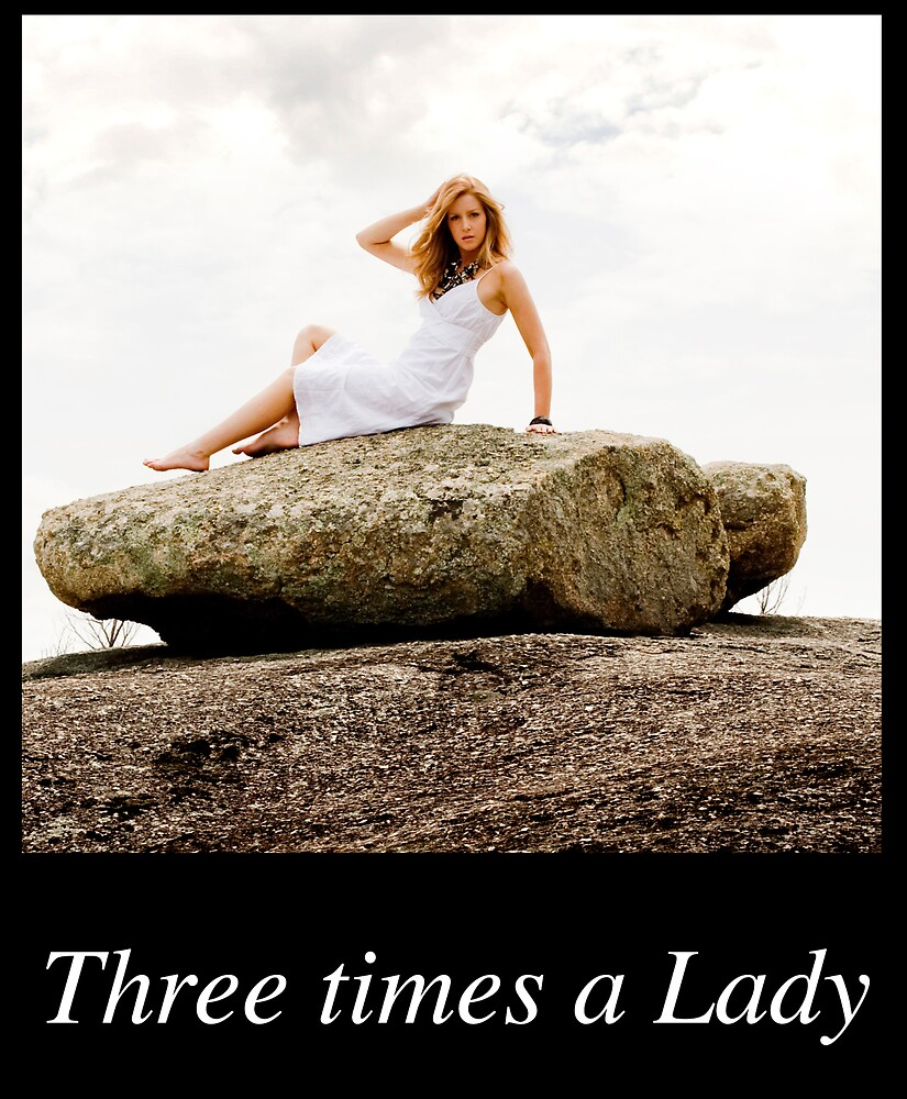 Once.. Twice... Three times a Lady Calendar Cover V1 by Mark Elshout
