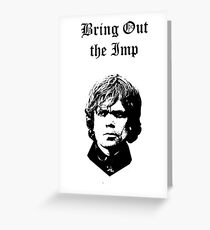 Bring Out the Imp Greeting Card