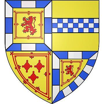 French France Coat of Arms 17738 Blason Murdoch Stuart Duc d'Albany by wetdryvac