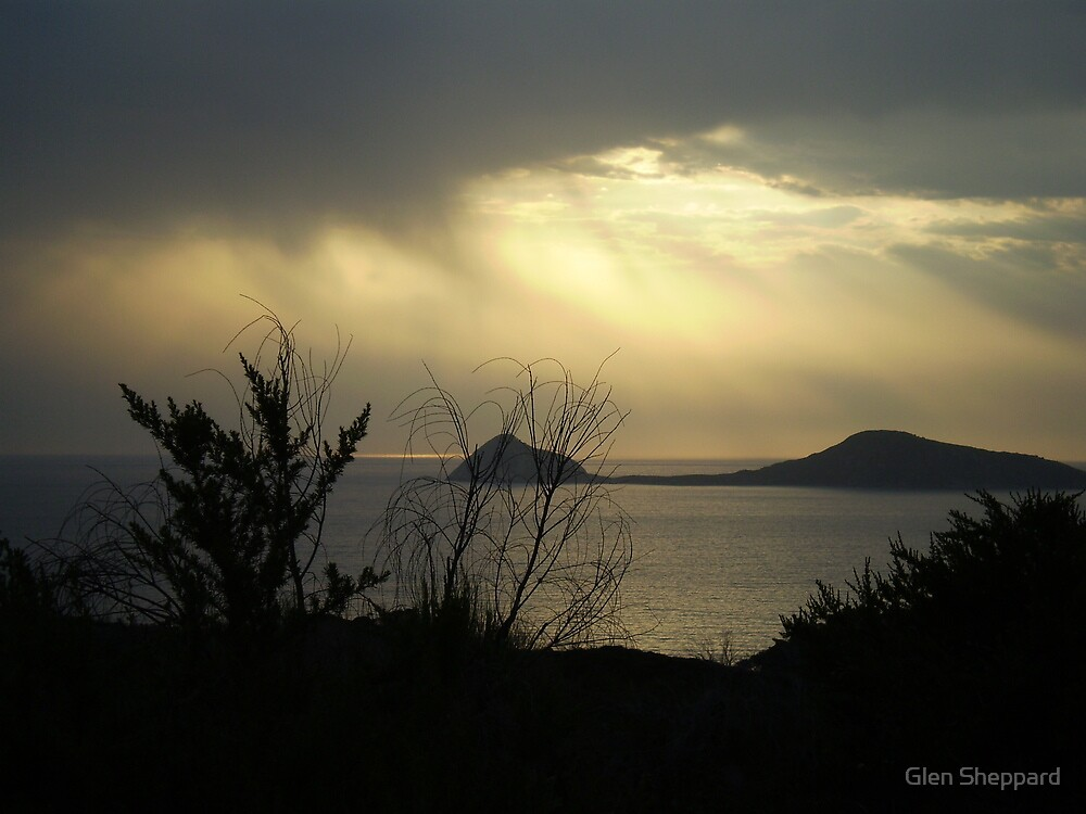 Sunset Storms, Wilsons Promontory NP by Glen Sheppard