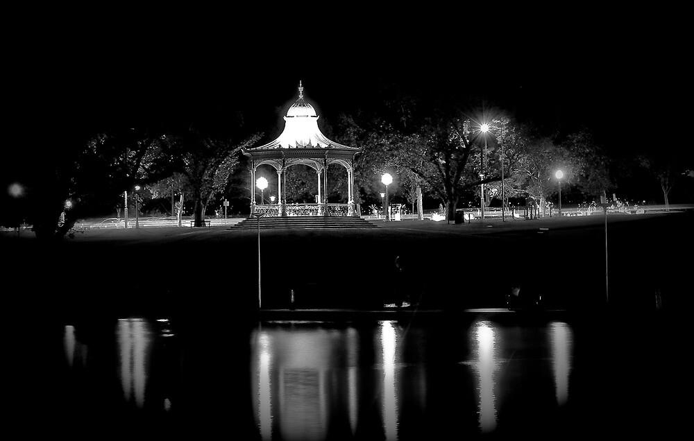 Black & White Rotunda Shot by Russell  Burgess