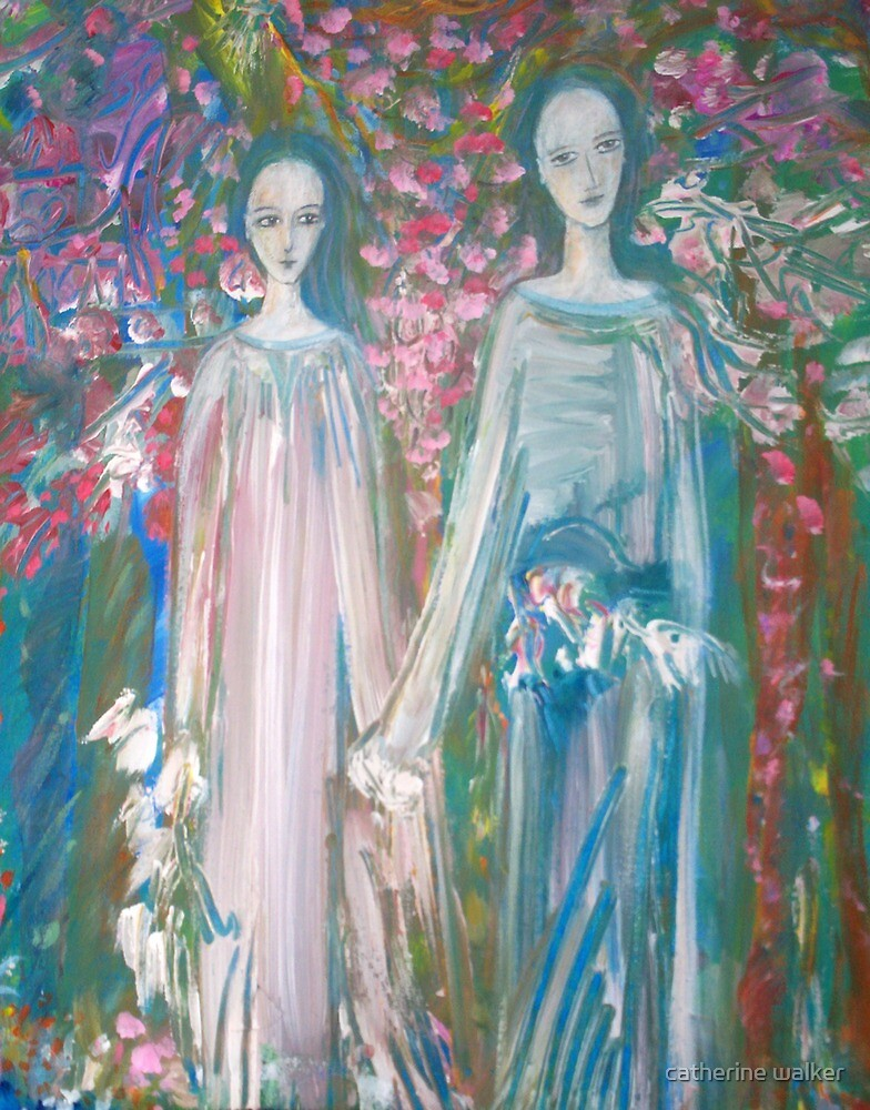 """"""" A wedding song"""". ... closer view by catherine walker"""