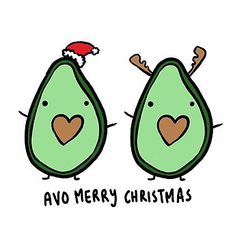 Avo Merry Christmas! [Avocado] by xJLe
