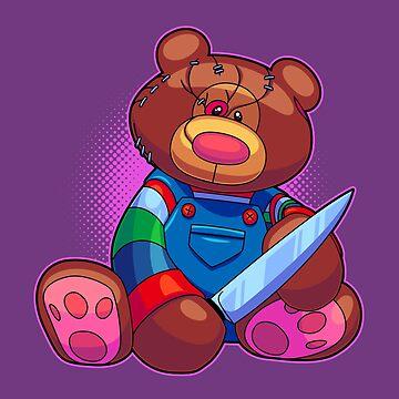 Horror Teddy Bear 5 by artdyslexia