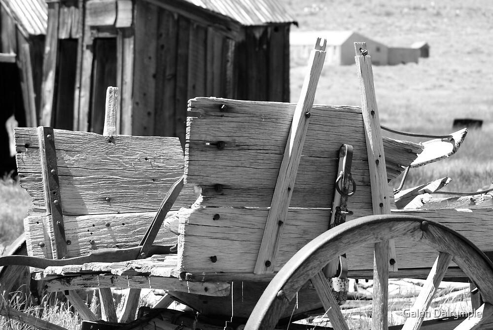 Old Wagon by Galen Dalrymple