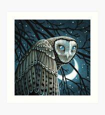 Moon Seer Art Print