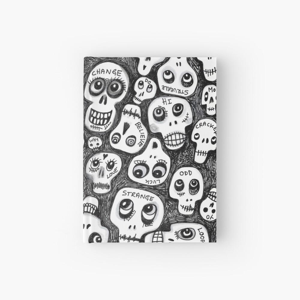 The Skull People Hardcover Journal