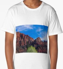 Zion National Park - The Altar of Sacrifice Long T-Shirt