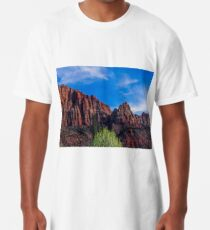 Zion National Park - The Altar of Sacrifice Long T-Shirt