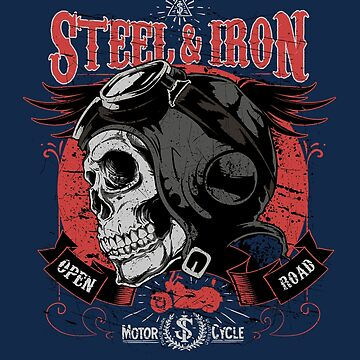 Motorcycle Riders Shirt, Motor Bikers T-shirt, Motocyclists, Bikers, Harley, Motorbikes, Motorcycles, Open Road, Riders,  by manbird