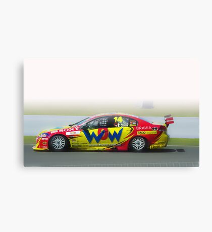 14- V8 supercar Bathurst Canvas Print