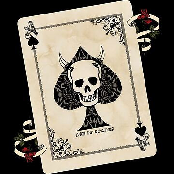 Ace Of Spades - Death Card by ImageMonkey