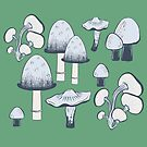 Pilze überall von Jacqueline Hurd