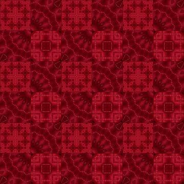 Red patchwork by fuzzyfox