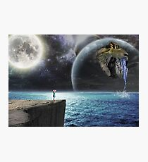 Shattered earth Photographic Print