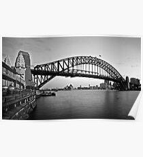 Icelight - Harbour Bridge Poster