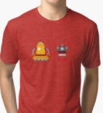robot love in color Tri-blend T-Shirt