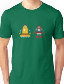 robot love in color Unisex T-Shirt