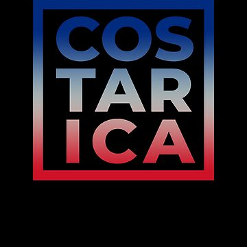 Costa Rica Country Flag Pride Vacation Souvenir Beach Family by hlcaldwell