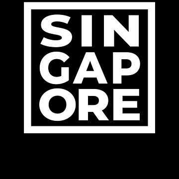 Singapore Malaysia Pride Fan Family Vacation Souvenir by hlcaldwell